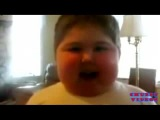 Chubby Kid Singing the CuppyCake Song