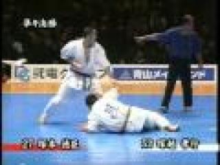 Tsukamoto Norichika Spectacular KO (Domawashi Kaiten Geri)