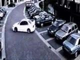 Mitsibushi Lancer POLICE Car chase Drift HIDING