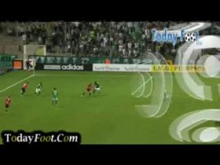 Лига 1 2010/2011. 35 тур. Сент-Этьен - Лилль (1-2)