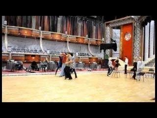Ирина Антоненко и Михаил Мамаев - Танго (репетиция)
