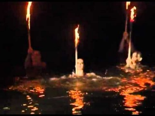 Романтическая феерия на воде