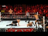 Big Show &amp Kane vs. David Otonga &amp Michael McGillicutty WWE Monday Night Raw 16.05.2011