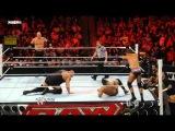 Big Show &amp Kane vs. David Otonga &amp Michael McGillicutty WWE Monday Night Raw 16.05.2011