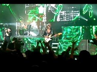 Scorpions в Краснодаре. Армен на экране