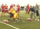 "Iowa State Football ""Cyclone Toughness"" Drill"