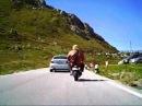 Honda Monkey Racing Dolomiten Pordoi