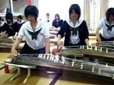 Japanese high school koto club