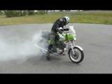 MZ TS 250/1 Burnout