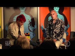 Meltdown™ Comics Presents: #SUPERGODS an Evening with Grant Morrison & Gerard Way (MCR) 2011
