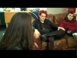 My Chemical Romance give a Backstage Tour at the MEN Arena