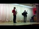 Влад Пономоренко и Андрей Лазовский. Репетиция