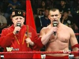 WWE Raw Old School: Santino and Vladimir Vs Jimmy and Jey 11.15.10 1/2