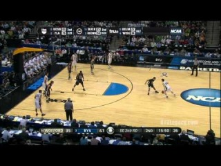Jimmer Fredette vs. Wofford (NCAA)
