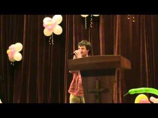 Церковь ХВЕ Белгород Днестровский 2011 Сергей авторская песня о маме   churchakkerman at ua