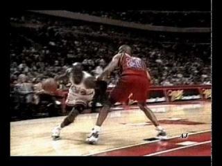 Michael Jordan   Scottie Pippen   Dennis Rodman: Blood in the water [лучшее трио баскетбола]