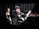 Julian Rachlin plays Lera Auerbach Sonata for Violin and Piano No. 3 - Part 2