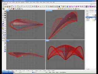 Grasshopper (плагин для Rhino): пример создания параметрической архитектуры