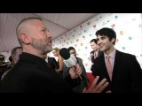 Darren Criss on the Red Carpet at MusiCares Person Of The Year