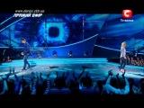 Танцуют все 4. 1-ый прямой эфир. Толик Сачивко и Галя Пеха 21.10.2011