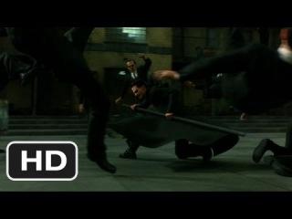 The Burly Brawl Scene - The Matrix Reloaded Movie (2003) - HD