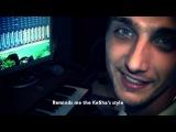 DJ Sandro Escobar - Hey, Man! (feat. Katrin Queen). Studio session. Song creation