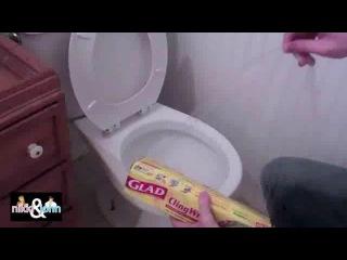 Bromas en el WC