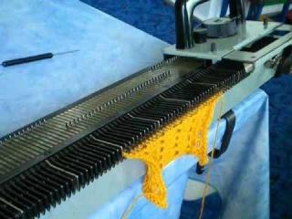 Уроки вязания на вязальных машинах Нева,Северянка