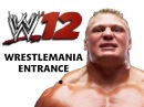 WWE 12 - Brock Lesnar's WRESTLEMANIA Entrance!