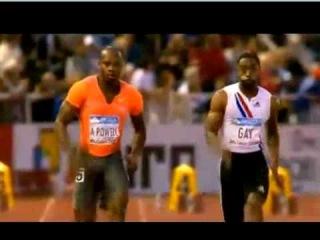 Tyson Gay vs Asafa Powell 2009 Galan Stockholm 100m