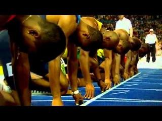 Usain Bolt, Asafa Powell and Tyson Gay 100m mash up