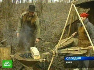 В Киеве куют историю древних славян | Новости телекомпании НТВ