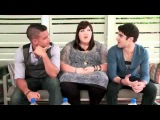 Cambio Live Chat - Darren Criss, Mark Salling & Ashley Fink
