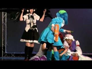 Fan Cover / Touhou Project - BAD APPLE!! / Blair no Neko (Minna Daisuki) et al