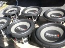 6 12 MB Quart Premiums free-air -- AudioQue 2200D
