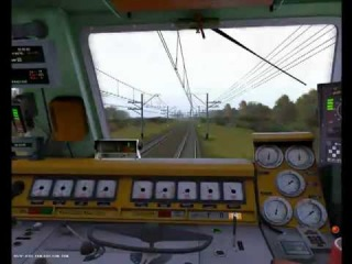 От Вялок до Люберец 2. trainz railroad simulator