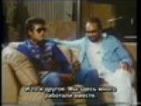 Майкл Джексон и Куинси Джонс на съемках Thriller