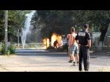 Ужгород вибух газу Бар Шериф (перші хвилини) 2 із 3