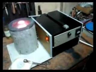 Индукционная печь