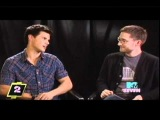 MTV The Seven Taylor Lautner talks about Britney Spears
