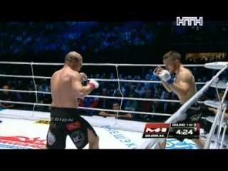 M-1 Global.Жером Буиссон (Франция) VS Юрий Ивлев (Легион) !!!