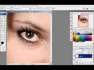 Урок №36 - Как правильно нанести макияж в фотошопе