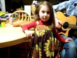 Девочка, очень КРУТО поёт!
