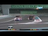 Fantastic Finish James Courtney vs Jason Bright 2011 V8 Supercars at Abu Dhabi