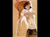 Egon Schiele Jeanne Balibar - Rose