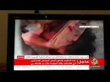 Gaddafi's body by aljazeera live
