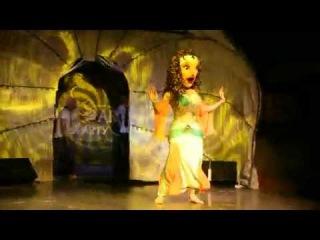 Шоу кукол Анны Ястребовой,восточная красавица Лейла