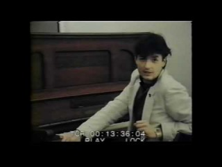 Falco 1982 in Mozarts Haus am Klavier Der Kommissar und Auf der Flucht HD