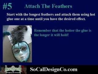 How to make a paper mache Venetian Mask socaldesignco.com
