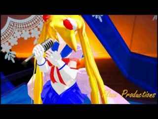 MMD UNDERLAW Lat Newcomer/Featuring Sailor Moon